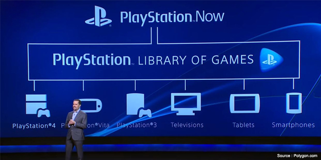 Sony Unveils 'PlayStation Now' Streaming Game Service