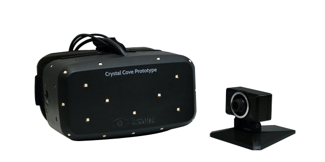 Oculus unveils the new Rift prototype, Crystal Cove