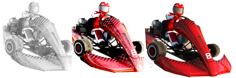 Go Karts-The making
